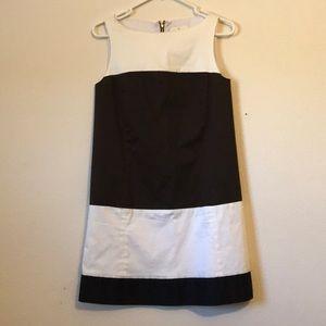 Kate spade ♠️ color block dress Brown Blk Cream 4